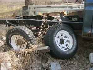 1973 F250 C parts truck C
