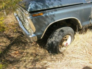 1973 F250 parts truck E