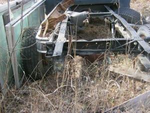 1973 F250 parts truck I